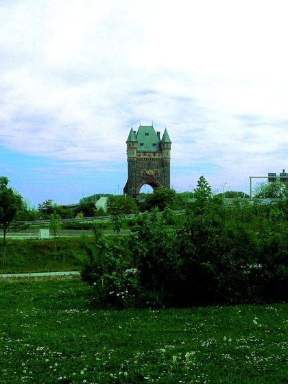 Der Nibelungenturm, 53 m hoch