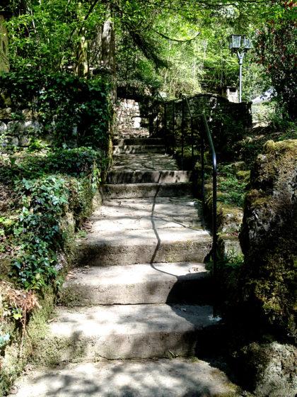 Treppe zum Fuussebau