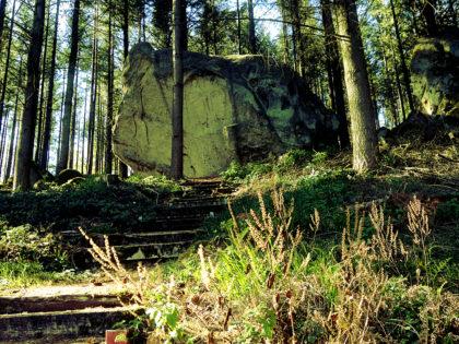 Der Härtgeslay mit seinem fast 2000 Jahre alten Grabrelief