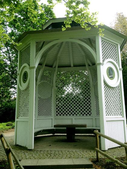 Landschaftsgarten, Pavillon