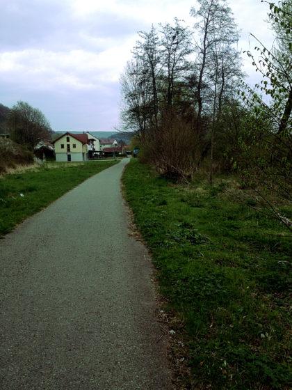 Die ersten Häuser von Langenprozelten
