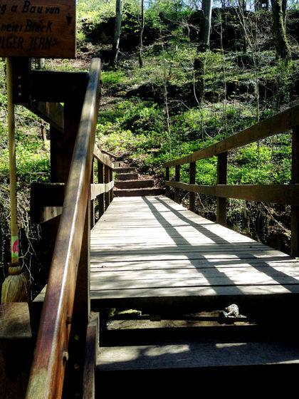 Brücke über den Schlammbach