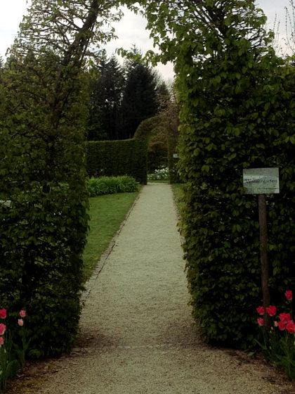 Garten der Sinne, Eingang zum Wassergarten