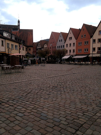 Gemünden Altstadt