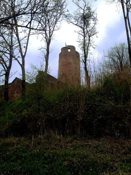 Scherenburg, Bergfried