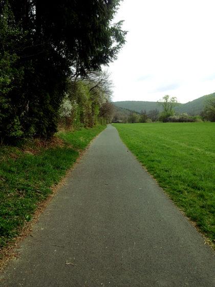 ...in Richtung Kloster Schönau