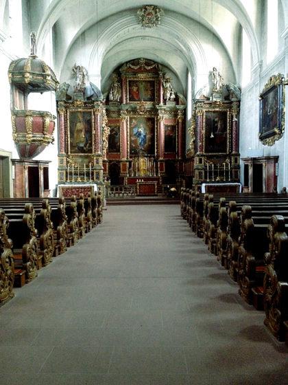 Die Klosterkirche innen