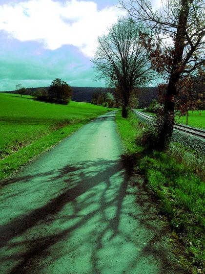 Wunderbares Gehen, leider in die völlig falsche Richtung