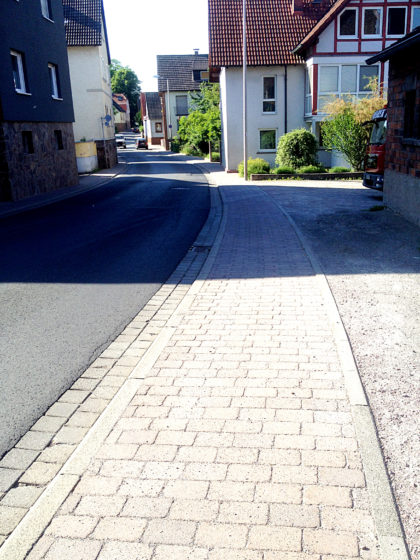 In den Straßen von Schöllkrippen