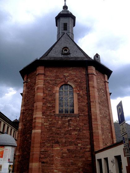 Die Sandkirche, Wallfahrtsstätte Nummer neun des Marienweges