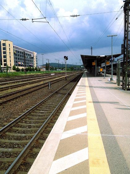 Bahnhof Aschaffenburg, Ende der 8. Etappe