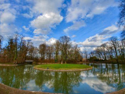 Im Schlosspark Herrnsheim, März 2018