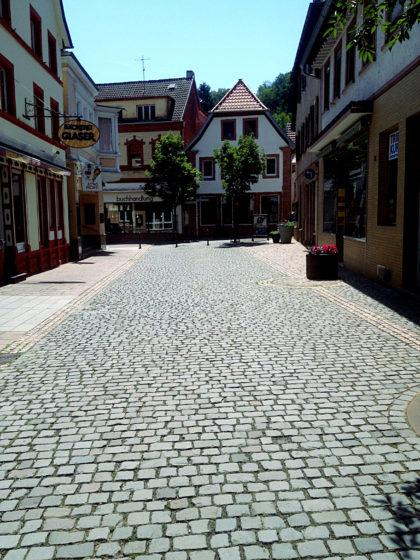 Die ersten Meter des Richard-Löwenherz-Weges