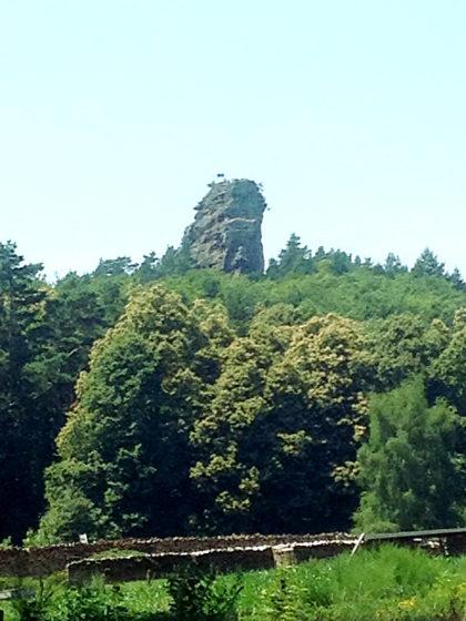 Der Anebos-Felsen