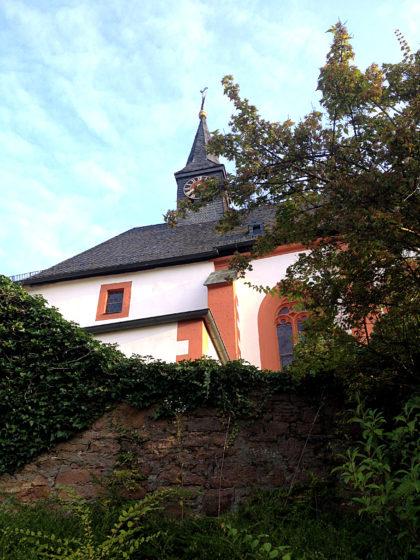 Wieder die Wallfahrtskirche, diesmal bei Licht