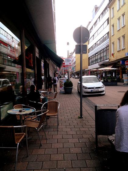 Ankunft in Aschaffenburg