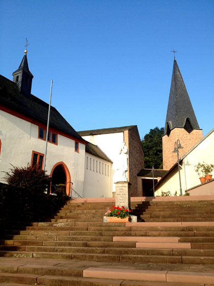 Wieder zurück bei der Wallfahrtskirche