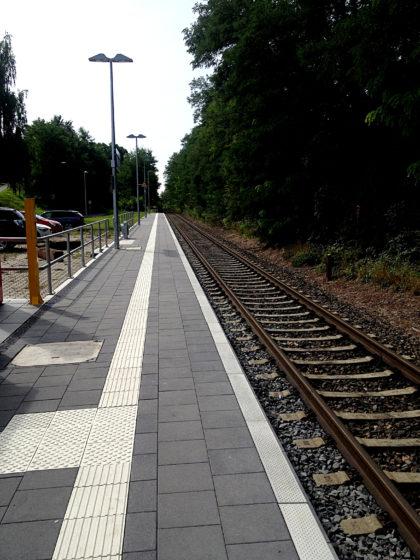 ...Bahnhof Sulzbach am Main. Von da fahre ich dann weiter nach Würzburg.