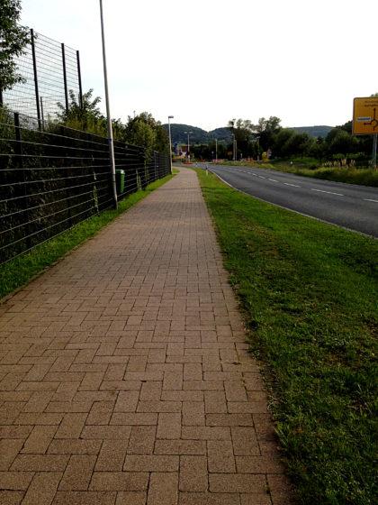 An der Landstraße nach Straßbessenbach