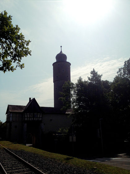 Ochsenfurt, Blick auf den Taubenturm