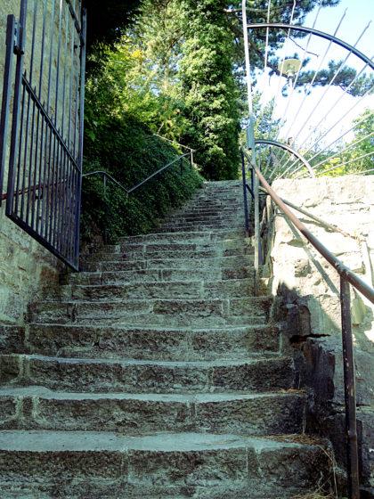 Noch ein paar zusätzliche Stufen