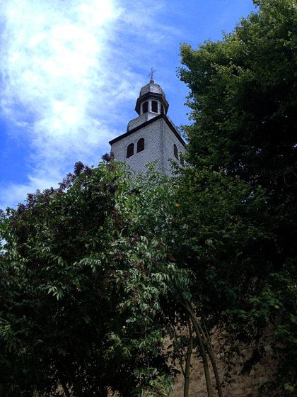 Turm der Ev. Kirche Simmertal
