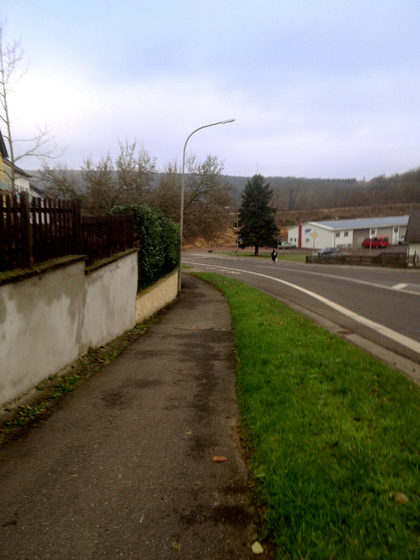 Fast leere Straßen