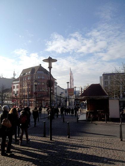 Bahnhofsvorplatz Saarbrücken
