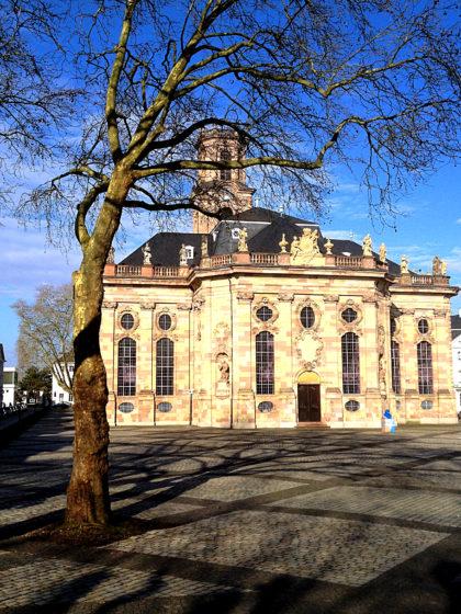 Die Ludwigskirche, erbaut von Friedrich Stengel ab 1762
