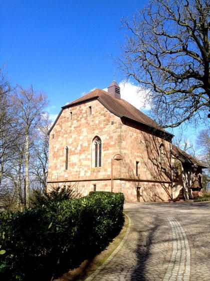 Die Kapelle Ste. Croix in Forbach