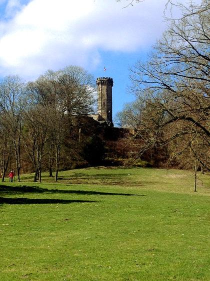 Blick auf den Schlossbergturm