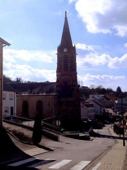 Die Kirche in Oeting