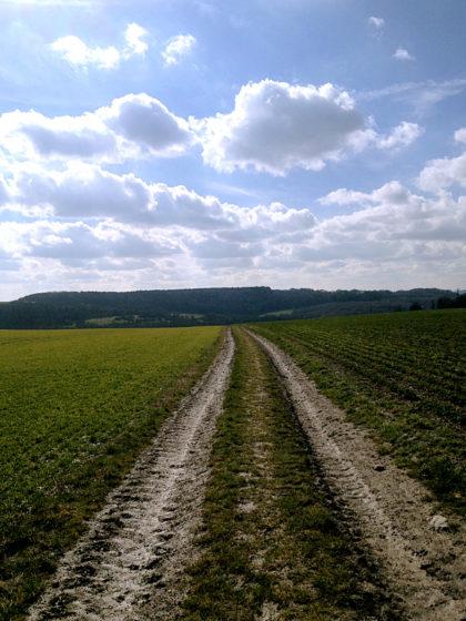 Ich biege in Richtung Morsbach ab