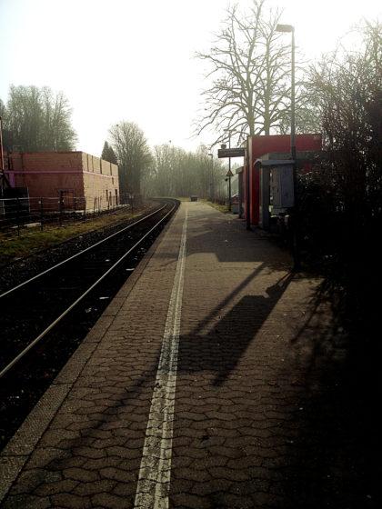 Am Bahnsteig in Blieskastel-Lautzkirchen