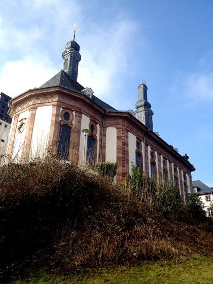 Die Schlosskirche in Blieskastel