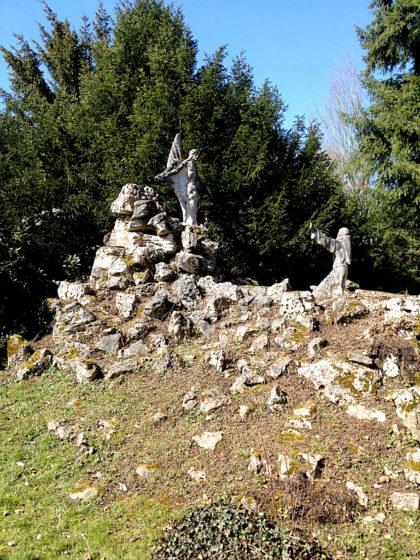 """""""Stigmatisation - Heiland erscheint am Berg La Verna"""""""