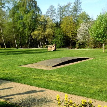 Im Stadtpark von St. Wendel