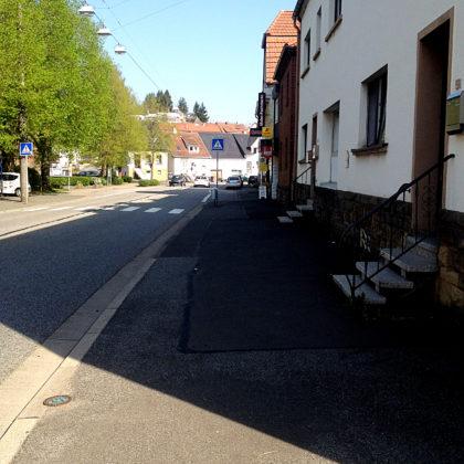 St. Wendel, Stadtrand Richtung Bliesen