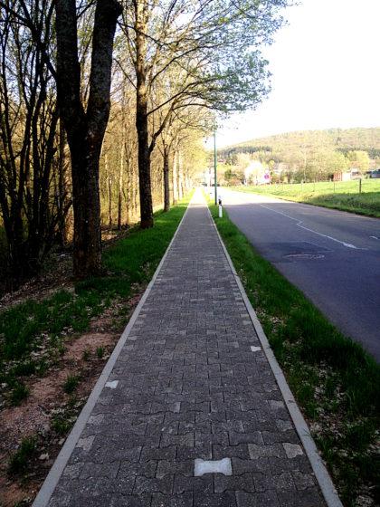 Kurz vor Gonnesweiler