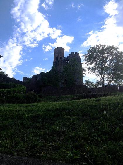 Der Bergfried der Hauptburg