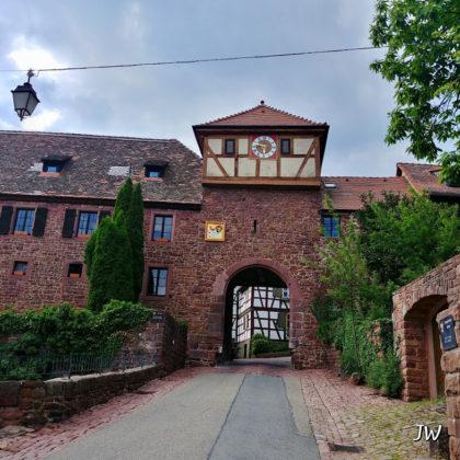 Stadttor in Dilsberg