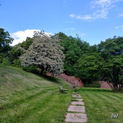 Der kleine Burgpark