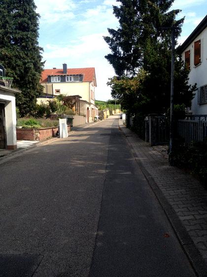 Durch die Straßen von Alsheim...