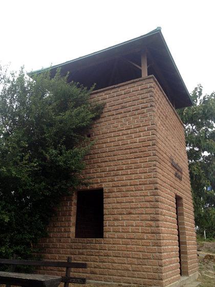 Der Römerturm, ein 1998 errichteter Aussichtsturm