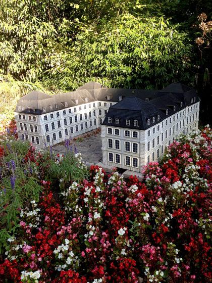 Das Saarbrücker Schloss als Miniatur