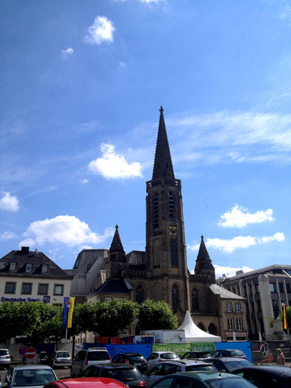Die Kirche St. Ludwig auf dem Großen Markt