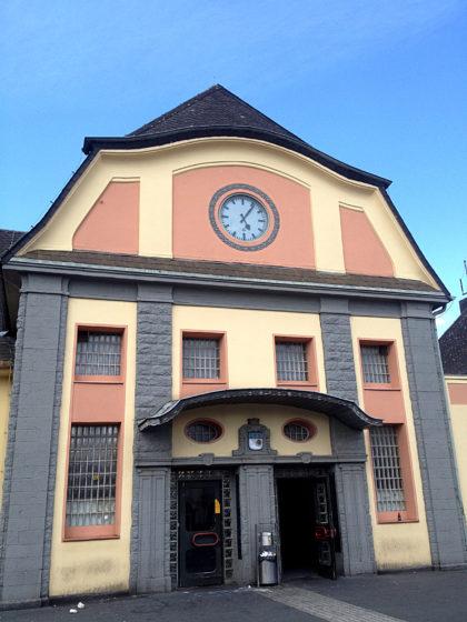 Bahnhof Saarlouis, Endpunkt der Tour