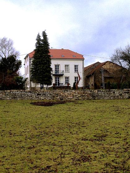 Ein restauriertes Schloss aus dem 18. Jahrhundert