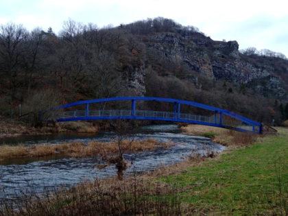 """Die Brücke heißt tatsächlich """"das Blaue Wunder"""""""