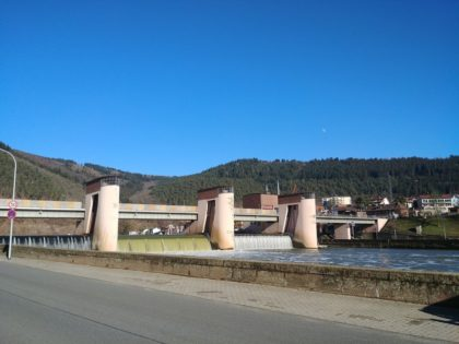 Die Schleusenbrücke